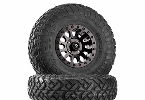 Fuel Vector D920 Matte Black Beadlock Wheels w| Fuel Gripper R | T Tires