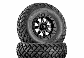 Fuel Maverick D928 Matte Black Beadlock Wheels w| Fuel Gripper Tires