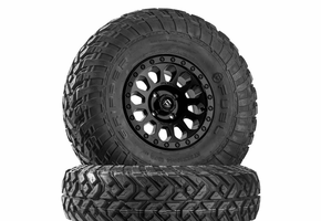 Fuel Vector D579 Matte Black Wheels w| Fuel Gripper R | T Tires