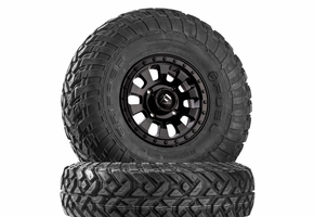 Fuel Tactic D630 Satin Black Wheels w| Fuel Gripper R | T Tires
