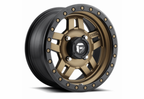 Fuel Anza D583 Bronze Wheel Set - 14 and 15 Inch