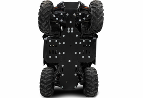Rival Plastic Skid Plate and Guards Kit - 2018-20 Polaris Ranger XP 1000