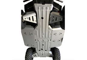 Rival Aluminum Skid Plate and Guards Kit - 2015-20 Mid Size Polaris Ranger 500 | 570 | ETX | EV