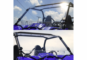 Over Armour Aero-Vent Front Windshield - Yamaha Wolverine
