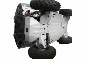 Rival Aluminum Skid Plate and Guards Kit - Polaris ACE
