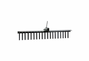 "Impact Implements Pro 62"" Landscape Rake w