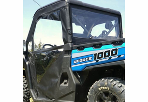Over Armour Soft Doors and Rear Window - CF Moto UForce 1000