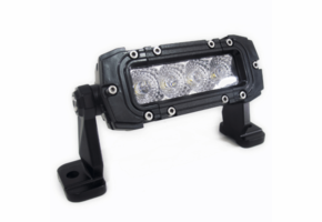 6 Inch Stealth Series Single Row LED Light Bar by Race Sport Lighting