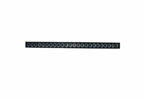 46 Inch HALO-DRL Series Single Row Halo LED Light Bar by Race Sport Lighting
