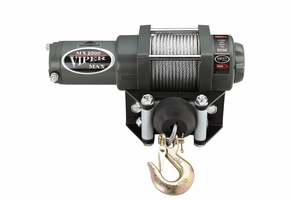 "Viper Max 5000 lb. Winch - 1/4"" Synthetic Cable"