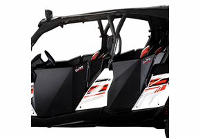 Black Suicide Full Doors by Dirt Specialties - Can Am Commander Max