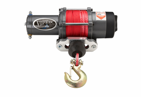 "Viper Elite 4500 lb Winch - 1/4"" Synthetic Cable"