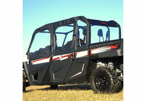 Over Armour Soft Upper Doors and Rear Window - Textron Stampede 4 | 4X