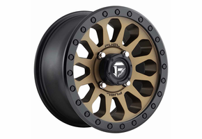 Fuel Vector D600 Bronze Wheel Set - 14 and 15 Inch