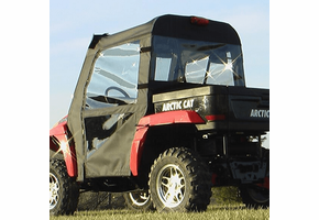Over Armour Top, Doors and Rear Window - 2006-11 Arctic Cat Prowler w| Square Bars
