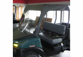 Over Armour Soft Windshield and Top - Bush Hog Trail Hand 4400