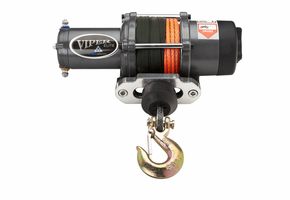 "Viper Elite 6000 lb Winch - 1/4"" Synthetic Cable"