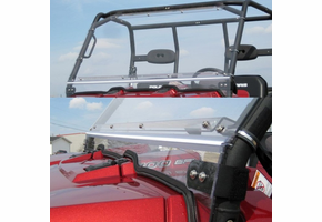 Over Armour Folding Front Windshield - Bobcat 3400