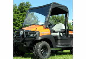 Over Armour Lexan Windshield, Top and Rear Window - Bobcat 2200