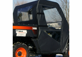 Over Armour Soft Doors and Rear Window - Bobcat 2200 | 3400