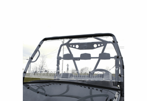 Over Armour Aero-Vent Front Windshield - 2012-14 Arctic Cat Prowler w| Round Bars