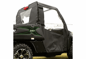 Over Armour Soft Doors and Rear Window - 2012-14 Arctic Cat Prowler w| Round Bars