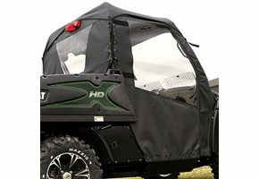 Over Armour Top, Doors and Rear Window - 2012-14 Arctic Cat Prowler w| Round Bars