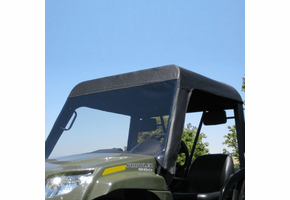 Over Armour Soft Windshield - 2006-11 Arctic Cat Prowler w| Square Bars