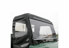 Over Armour Hinged Front Windshield - Bush Hog Trail Hand 4400