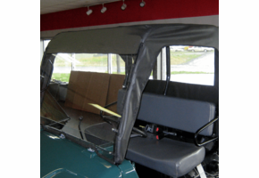 Over Armour Hinged Windshield, Top and Rear Window - Bush Hog Trail Hand 4400