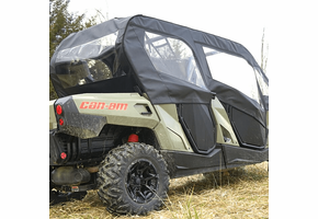 Over Armour Soft Upper Doors and Rear Window - Can Am Commander Max
