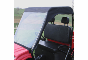 Over Armour Soft Windshield and Top - Chuck Wagon
