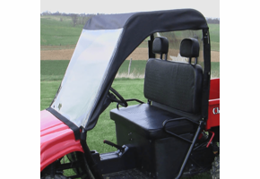 Over Armour Soft Windshield, Top and Rear Window - Chuck Wagon