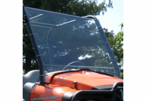 Over Armour Full Front Lexan Windshield - Club Car XRT1550