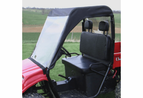 Over Armour Soft Windshield, Top and Rear Window - Honda Big Red