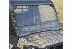 Over Armour Aero-Vent Front Windshield - Kawasaki Mule Pro-FX | DX