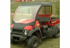 Over Armour Soft Windshield and Top - Kawasaki Mule 600 | 610