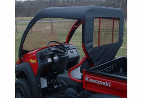 Over Armour Soft Windshield, Top and Rear Window - Kawasaki Mule 600 | 610