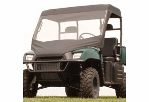 Over Armour Soft Windshield and Top - 2010-14 Mid Size Polaris Ranger 400 | 500 | 570 | 800 | EV