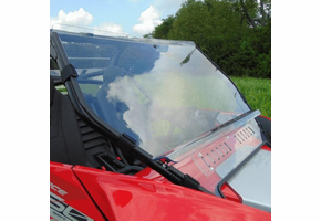 3 Star MR10 Hard-Coated Two-Piece Front Windshield w| Adjustable Vents - CF Moto ZForce 950