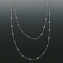 "36"" Crystal CZ Stones Diamond Like Chain Necklace By The Yard"