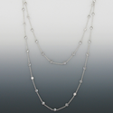 "48"" Crystal CZ Stones Diamond Like Chain Necklace By The Yard"
