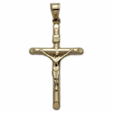 14K Gold Crucifix Pendants