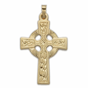 14K Gold Celtic Crosses