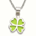 Four Leaf  and Three Leaf Clover Necklaces