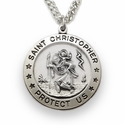 Sterling Silver St. Christopher Medals