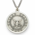Men's Sterling Silver Military Medals