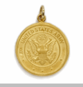 Military 14K Gold St. Christopher Medals