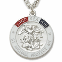 Sterling Silver Military Tri-Color Medals