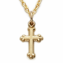 Baby Gold Crosses
